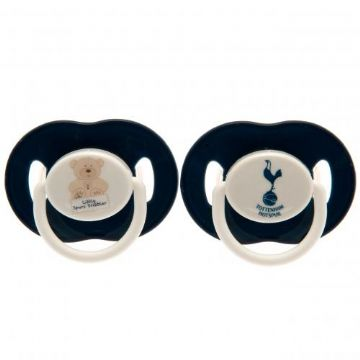Tottenham Hotspur Baby Soothers / Dummies (2 Pack)